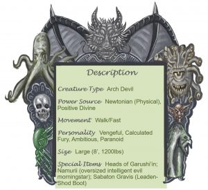 Bael Descption Chart
