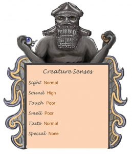 Bishop of Bael Senses Chart
