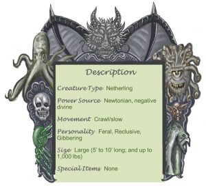 Larval Soul Descption Chart