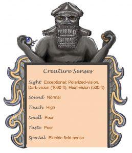 Slaazrou Senses Chart